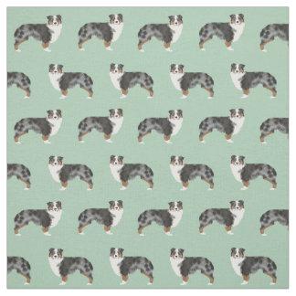 Australian Shepherds fabric cute dog fabric