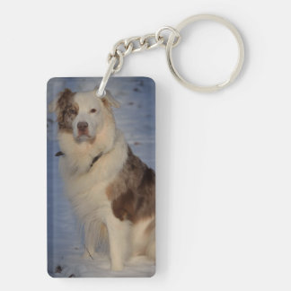 Australian Shepherds Key Ring