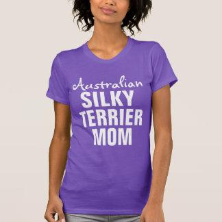 Australian Silky Terrier Mom T-Shirt