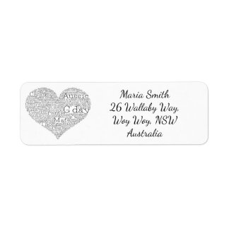 Australian slang heart