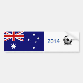 Australian Soccer Bumper Sticker