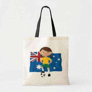 Australian Soccer Girl 4 Budget Tote Bag