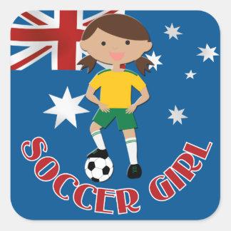 Australian Soccer Girl 4 v2 Sticker