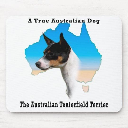 Australian Tenterfield Terrier Tricolour /Map Mouse Mat