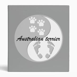 australian terrier binders