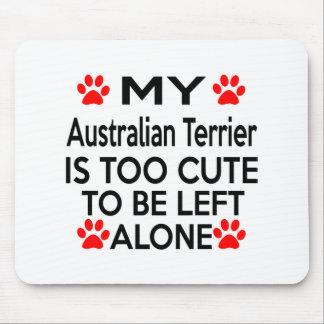 Australian Terrier Designs Mouse Pad