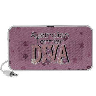 Australian Terrier DIVA Travel Speakers