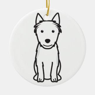 Australian Terrier Dog Cartoon Christmas Ornament