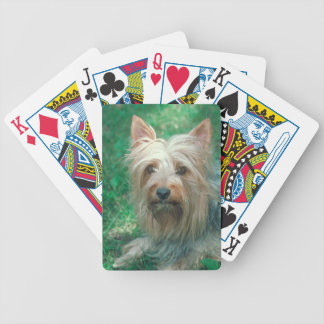 Australian Terrier Dog Playing Cards