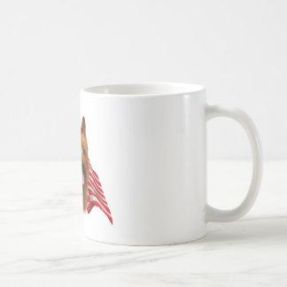 Australian Terrier Flag Basic White Mug