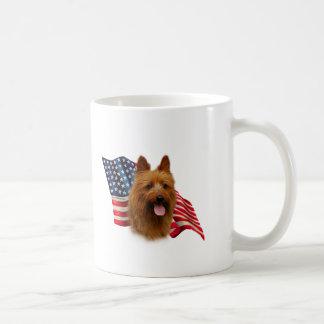 Australian Terrier Flag Coffee Mug