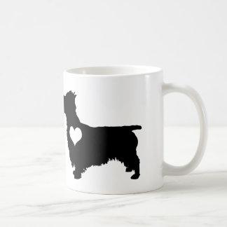 Australian Terrier Heart Mug