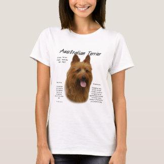 Australian Terrier History Design T-Shirt