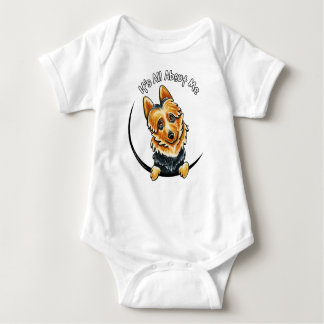 Australian Terrier IAAM Baby Bodysuit