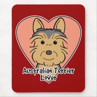 Australian Terrier Lover Mouse Pad