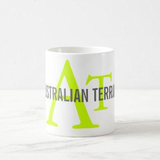 Australian Terrier Monogram Coffee Mug