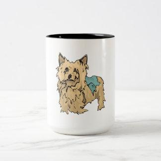Australian Terrier Puppy Two-Tone Mug