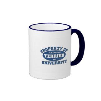Australian Terrier University Ringer Mug