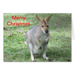 Australian themed Christmas card