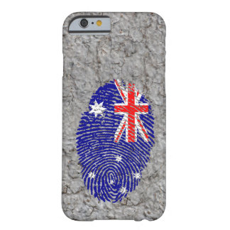 Australian touch fingerprint flag barely there iPhone 6 case
