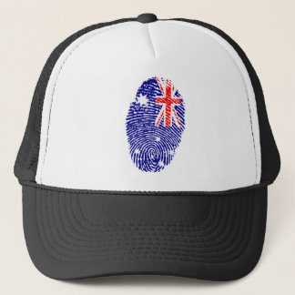 Australian touch fingerprint flag trucker hat