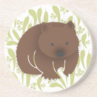 Australian Wombat Coaster