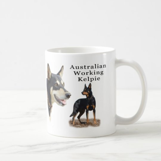 Australian Working Kelpie - Black and Tan Coffee