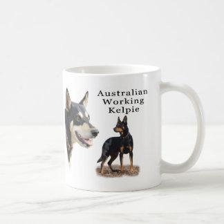 Australian Working Kelpie - Black and Tan Mug