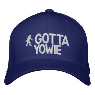 Australian Yowie Bigfoot Embroidered Baseball Caps