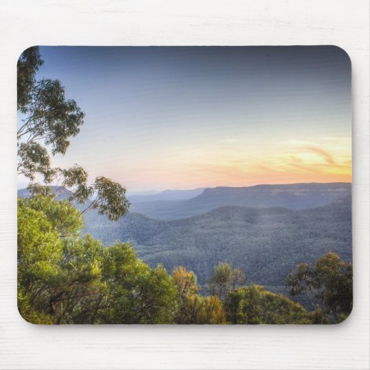 Australia's Blue Mountains mouse mat