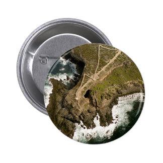 Australia's Coast: Admiral's Arch,Kangaroo Island 6 Cm Round Badge