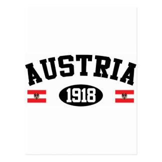 Austria 1918 postcard