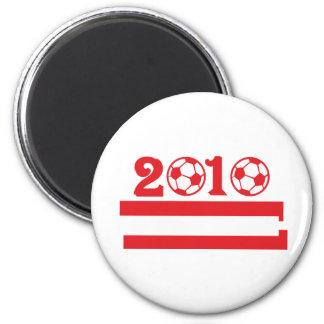 austria 2010 soccer football magnets