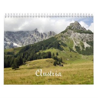 Austria, 2016 wall calendars