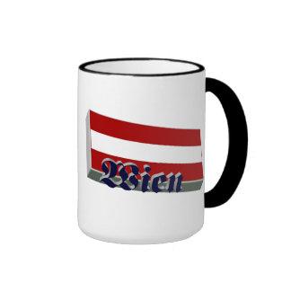 Austria 3D+H Mug