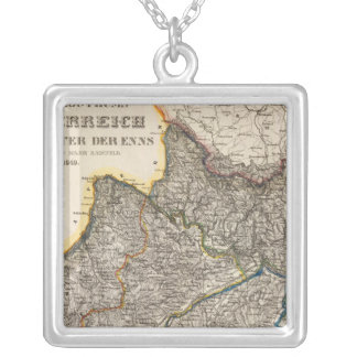 Austria 4 silver plated necklace