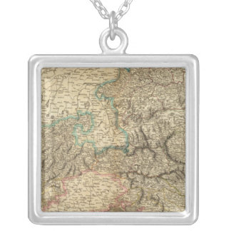 Austria 5 silver plated necklace