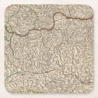 Austria 6 square paper coaster
