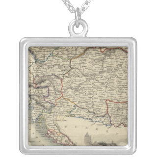 Austria 9 silver plated necklace