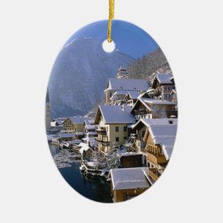 Austria Alpes Christmas Ornaments