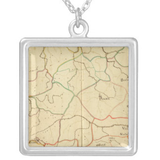 Austria and Czech Republic 2 Silver Plated Necklace