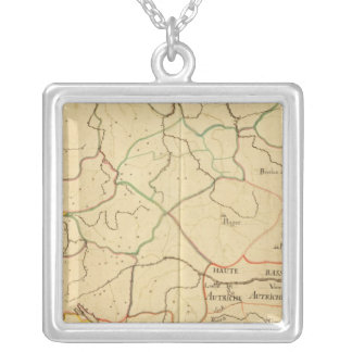 Austria and Czech Republic 3 Silver Plated Necklace