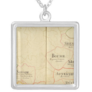 Austria and Czech Republic Silver Plated Necklace