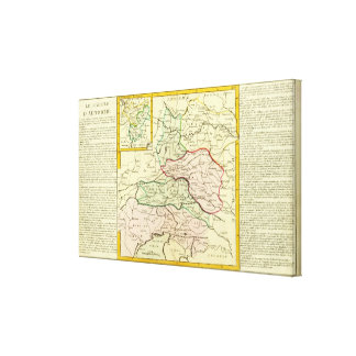 Austria and Slovenia Canvas Print