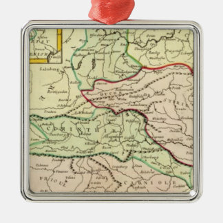 Austria and Slovenia Christmas Ornament
