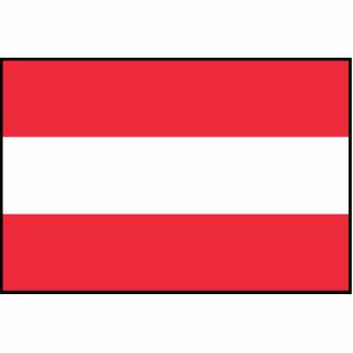 Austria – Austrian Flag Photo Cut Outs