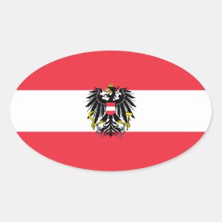 Austria/Austrian Flag Stickers