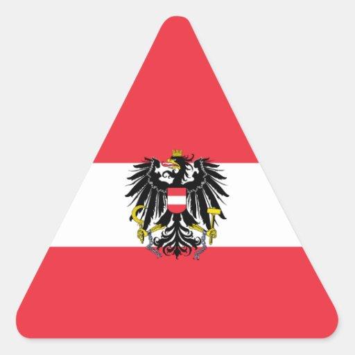Austria/Austrian Flag Sticker