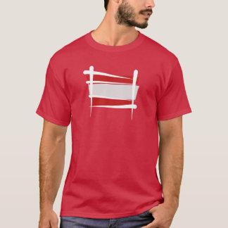 Austria Brush Flag T-Shirt