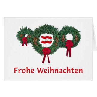 Austria Christmas 2 Card